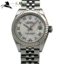 Rolex Lady-Datejust Stahl 28mm Silber