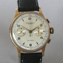 Chronographe Suisse Cie Geelgoud 38mm Handopwind tweedehands