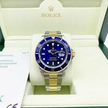 Rolex 16613 Or/Acier 2006 Submariner Date 40mm occasion