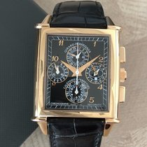 Girard Perregaux Rose gold Automatic Black Arabic numerals pre-owned Vintage 1945