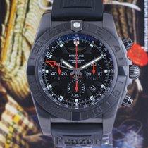Breitling Chronomat GMT Acier 47mm Noir Sans chiffres