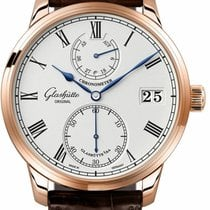 Glashütte Original Senator Chronometer Rose gold 42mm Silver Roman numerals United States of America, Florida, Sunny Isles Beach
