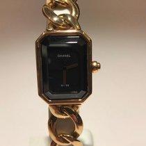 Chanel Première Yellow gold Black