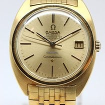 Omega Constellation Yellow gold 35mm Gold (solid) No numerals