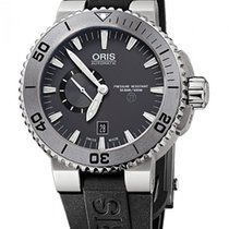 Oris Aquis Titan new Automatic Watch with original box and original papers 01 743 7664 7253-07 4 26 34TEB