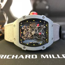 Richard Mille Carbono Corda manual RM 027-01 novo