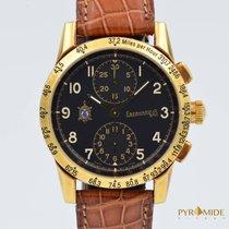 Eberhard & Co. Tazio Nuvolari 30047/C Never Polished Gold...