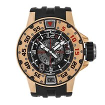 Richard Mille RM 028 Automatic Rose Gold Diver's Watch