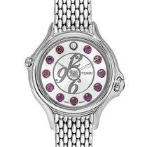 Fendi Crazy Carats Silver Dial Quartz Ladies Watch – F10502600...