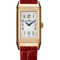 Jaeger-LeCoultre Reverso Classic Small Rose gold 40mm Silver