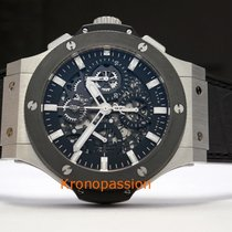 Hublot Steel Automatic Transparent No numerals 44mm new Big Bang Aero Bang
