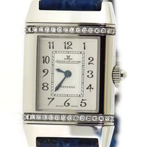 Jaeger-LeCoultre Reverso (submodel) pre-owned 21mm Silver Leather