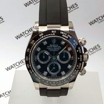Rolex Cosmograph Daytona White Gold & Diamonds - 116519LN