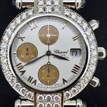 Chopard Imperiale Staal 38mm Wit Romeins