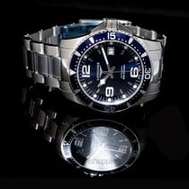 Longines L37424966 Steel HydroConquest 41mm new United States of America, California, San Mateo