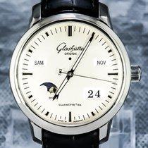 Glashütte Original 47mm Automatic pre-owned Senator Perpetual Calendar Silver