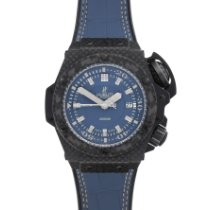 Hublot King Power Carbonio 48mm Blu Senza numeri