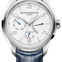 Baume & Mercier Clifton new 2019 Automatic Watch with original box and original papers MOA10449