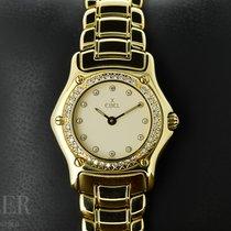 Ebel Sport ikinci el 26mm Beyaz Sarı altın