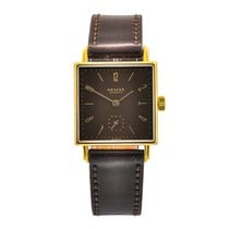 NOMOS Tetra 27 pre-owned 2,7mm Brown Leather