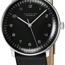Junghans max bill Automatic Steel Black United States of America, New York, Brooklyn