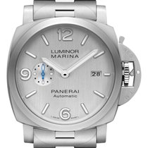 Panerai Luminor Marina 1950 3 Days Automatic Otel 42mm Argint Arabic