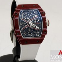 Richard Mille RM 67 Carbone 38mm Transparent Sans chiffres