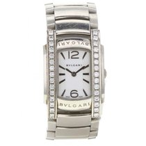 Bulgari White gold Quartz White pre-owned Assioma