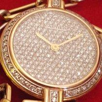 Cartier Часы подержанные 1990 Жёлтое золото 26mm Без цифр Механические Часы с оригинальной коробкой