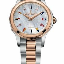 Corum new Automatic 32mm Gold/Steel Sapphire crystal