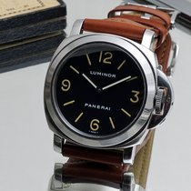 Panerai Steel 44mm Manual winding PAM 00002 T-dial tritium pre-vendome Pre-A A-serie B-serie pre-owned