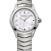 Ebel Wave Steel 30mm Mother of pearl
