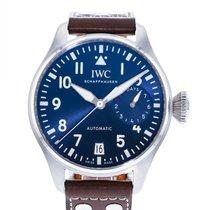 IWC Big Pilot Stål 46mm Blå