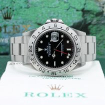 Rolex Explorer II 16570 Sehr gut Stahl 40mm Automatik