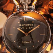 Panerai Table Clock Staal