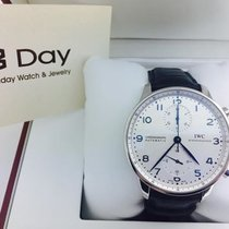 万国  (IWC) 8DAYwatch-New  IW371446 PORTUGUESE STAINLESS STEEL...