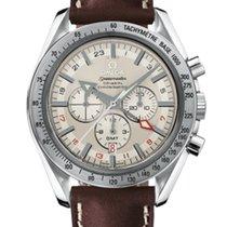 Omega Speedmaster Broad Arrow GMT Mens Watch