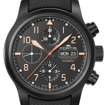 Fortis Steel 42mm Automatic 656.18.18 LP 01 new