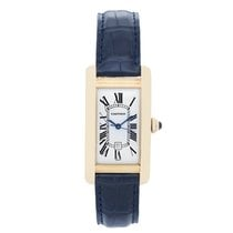 Cartier Tank Americaine (or American) Men's Gold Watch...