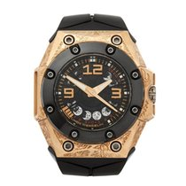 Linde Werdelin Oktopus Moon Tattoo 18K Rose Gold Men's...