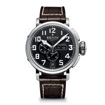Zenith Steel Automatic new Pilot Type 20 Annual Calendar