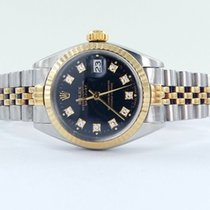 Rolex Datejust Lady Stahl/gold Brillanten Diamanten Ref. 6917 Box