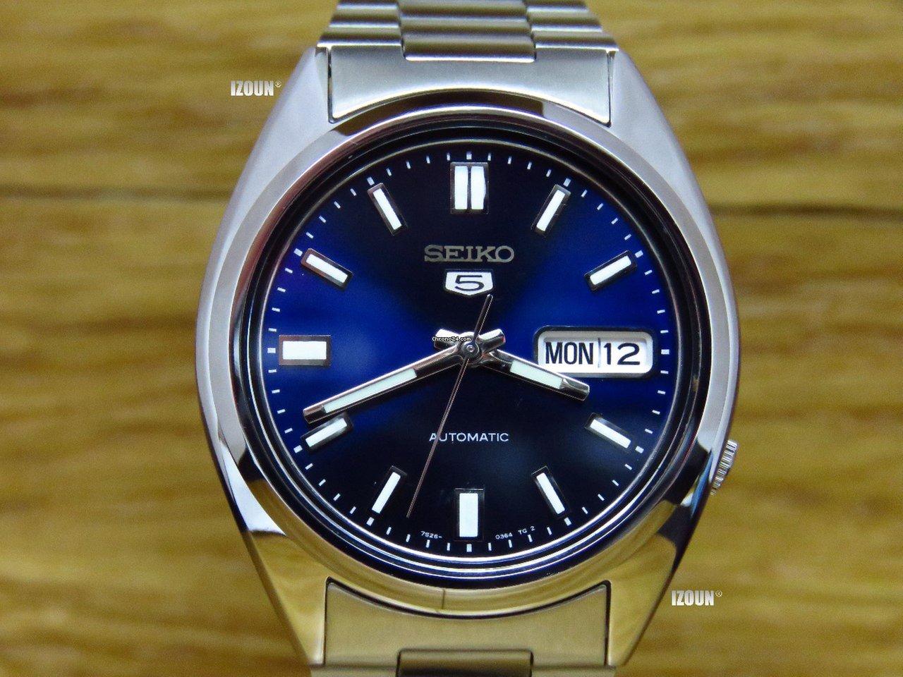 1aa1360d7dd8 Seiko 5 - Precios de Seiko 5 en Chrono24