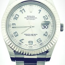 Rolex Datejust II Steel 41mm Silver Arabic numerals United States of America, New York, New York