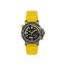 Nautica Porthole NAPPRH003 Diver Watch Black and Yellow