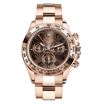 Rolex Red gold Automatic Brown Arabic numerals 40mm new Daytona