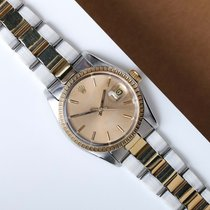 Rolex 1505 Gold/Steel 1977 Oyster Perpetual Date 36mm pre-owned