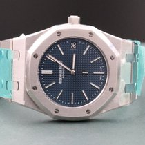 Audemars Piguet Royal Oak 15202 Jumbo Blue Boutique  New