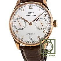 IWC Portuguese Automatic Or rouge 42.3mm Argent Arabes