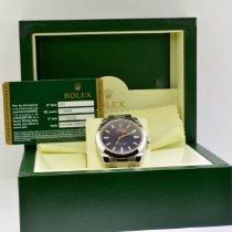 Rolex Milgauss новые 2008 Автоподзавод Часы с оригинальными документами и коробкой